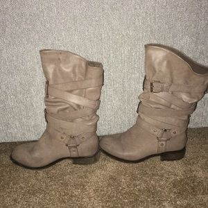 Grey Style Boots